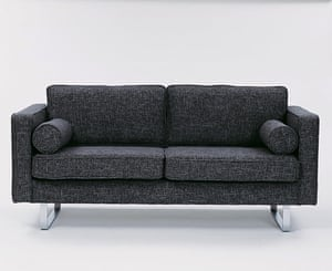Terence Conran: 59th Street sofa in grey black