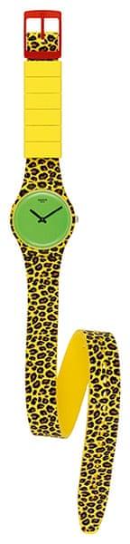 xmas gifts: Swatch Punk watch by Jeremy Scott