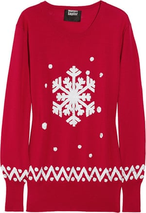 Xmas gifts Weekend: Markus Lupfer red snowflake sweater