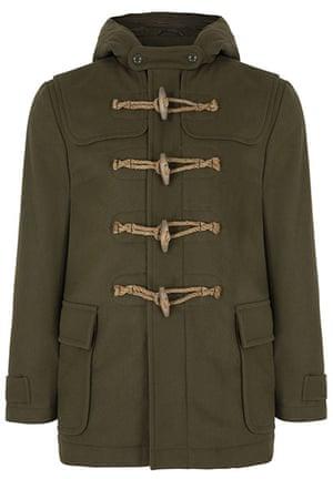 Xmas gifts Weekend: Men's wool duffle jacket,