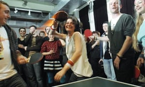 Ping Pong at the Young Offenders Institute club night, London