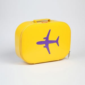 xmas gift ideas: Bakker Made With Love yellow suitcase