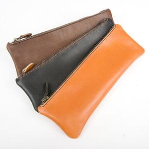 xmas-jewellery-over20: leather pencil case