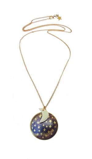 xmas-jewellery-over20: Moon and star locket