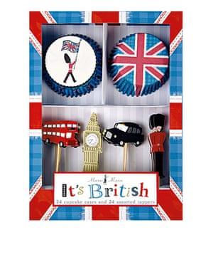 Stocking fillers: British cupcake set