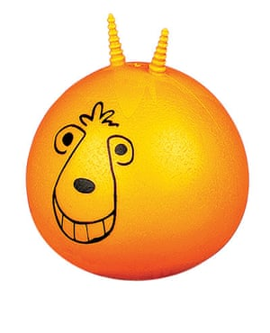 Stocking fillers: Spacehopper stress ball