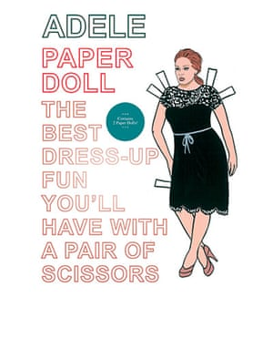 Stocking fillers: Adele dress-up paper doll