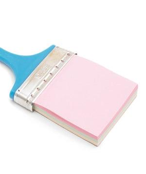 Stocking fillers: Paintbrush notepad