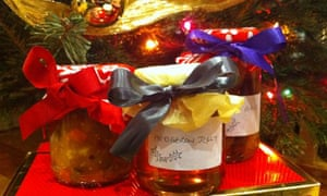 Festive preserves - Piccalilli, Hedgerow jelly, Mulled pears