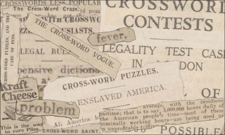 Crosswords: the meow meow of the 1920s   Crosswords   The Guardian