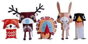 Wildcard Christmas gifts: Mibo festive friends kit
