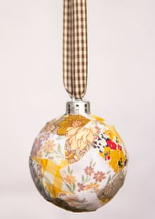 Patchwork bauble