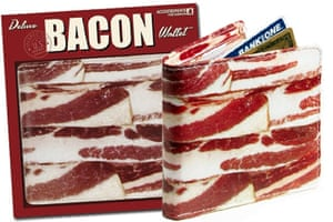 Worst xmas gifts: Bacon wallet