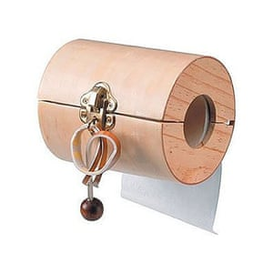 worst xmas gifts: Toilet roll puzzle