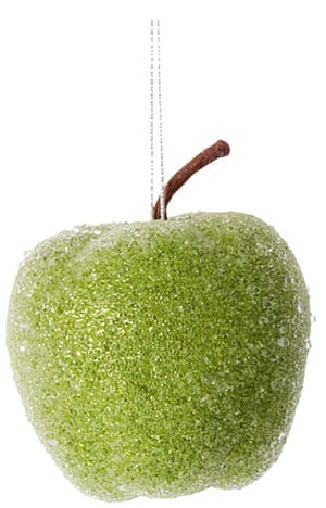 Baubles: Glitter apple