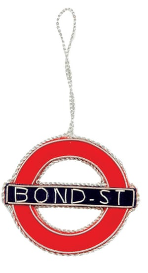 Baubles: Bond St insignia