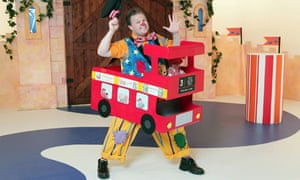Justin Fletcher as Mr Tumble in CBeebies Something Special