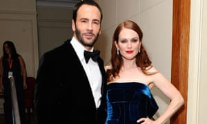Tom Ford and Julianne Moore at the Baftas