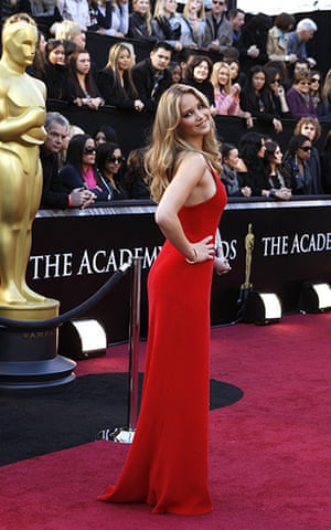 Oscars: Actress Jennifer Lawrence arrives at the 83rd Academy Awards in Hollywood