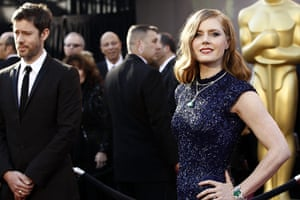 Oscars: Amy Adams arrives at the Oscars