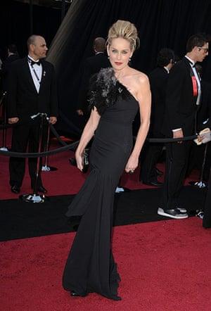 Oscars: Sharon Stone at the Oscars 2011