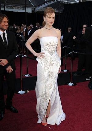 Oscars: Nicole Kidman on the red carpet at the Oscars