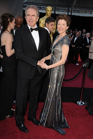 Oscars: Warren Beatty and Annette Bening at the Oscars