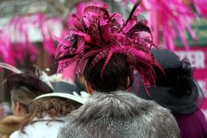 Cheltenham ladies day: Ladies day at Cheltenham Festival