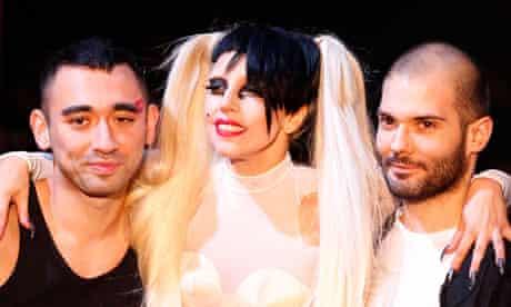 Lady Gaga, Nicola Formichetti, Sebastien Teigne