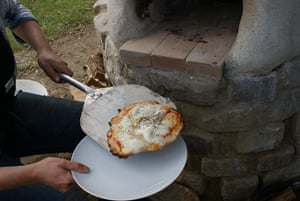 Pizza oven: 14
