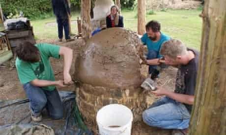 Pizza oven: If you put your back into it, your wood-fired cob pizza oven could be ready very soon