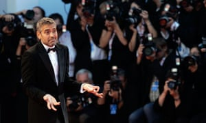 George Clooney at the Venice Film Festival, 2007