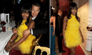 Naomi Campbell and Vladimir Doronin in Cannes