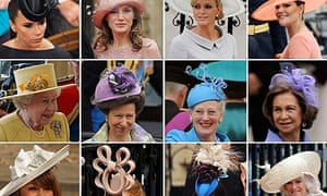 Hats at the royal wedding, several by Philip Treacy