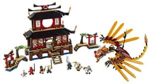 Hamley's Christmas toys: Top ten toys: Lego Ninjago Fire Temple