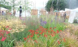 Sue Beesley's Grasses With Grace show garden at Tatton Park 2011