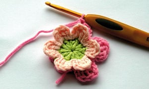 Crocheted flower 2