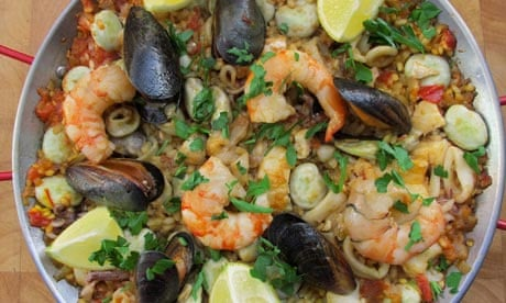 How to cook the perfect paella   Food   The Guardian