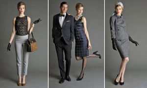 Looks from Banana Republic's new Mad Men collection
