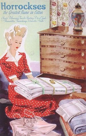 Horrockses: 1940s advertisement