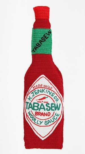 Crocheted delicacies: Tabasew woolly sauce
