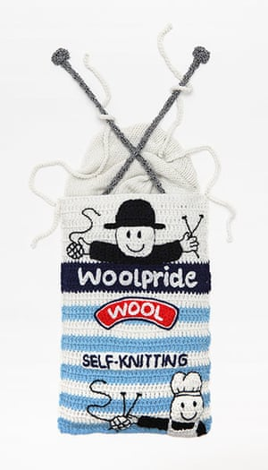 Crocheted delicacies: Woolpride Wool (self-knitting, of course)