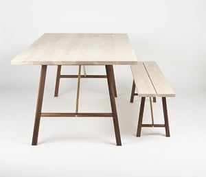 Design Junction : Trestle table and bench from Another Country