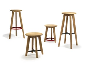 Design Junction : Noughts and crosses stools by Michael Sodeau