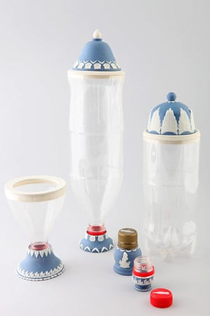 Power of Making gallery: Wedgwood style soft drink bottles