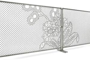 Power of Making gallery: Lace Fence by Joep Herman Verhoeven