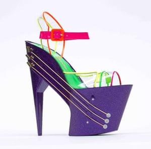 Power of Making gallery: E-Shoe (High-heeled shoe guitar)