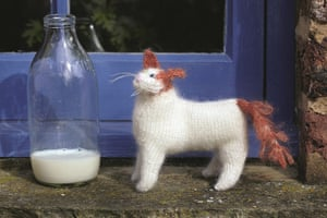 Knit your own cat: Best in Show: Knit your own Turkish Van cat