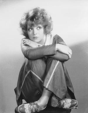 SIlent movie stars: Clara Bow