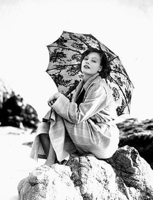 SIlent movie stars: Greta Garbo